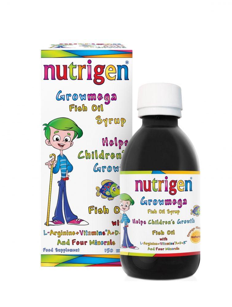 Nutrigen Growmega Fish Oil Syrup