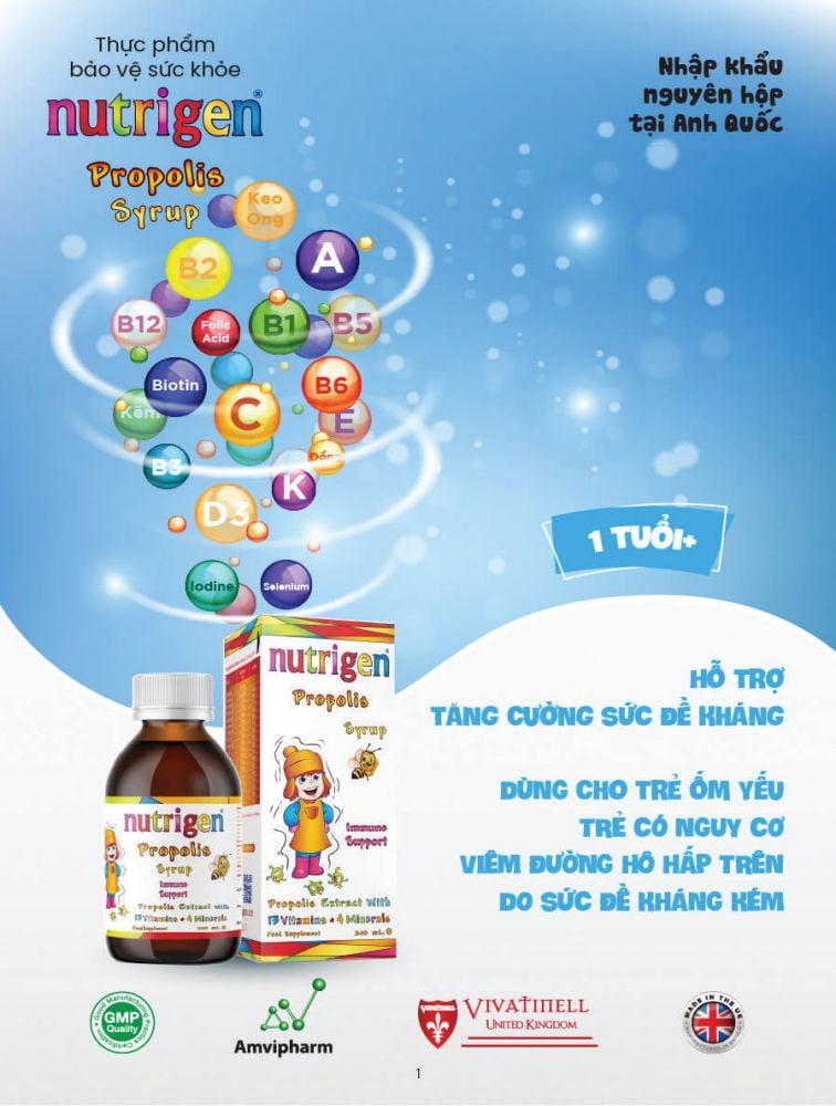 Nutrigen Propolis syrup